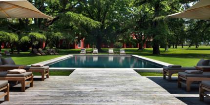 swimming pool in an estancia